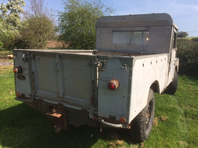 1956 Perkins Series 1 LWB Pick up For Sale (picture 2 of 6)