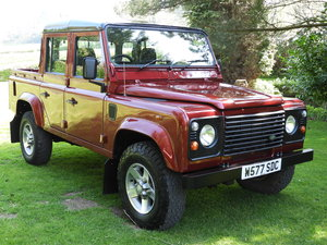 2000 LAND ROVER DEFENDER 110 2.5 TD5 DBL CAB PICK UP !!!! For Sale