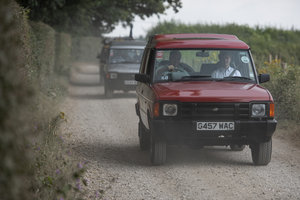 1989 Land Rover Discovery - Press launch G457WAC
