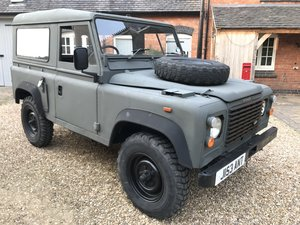 1992 Land Rover Defender ExMod 90 USA Exportable For Sale