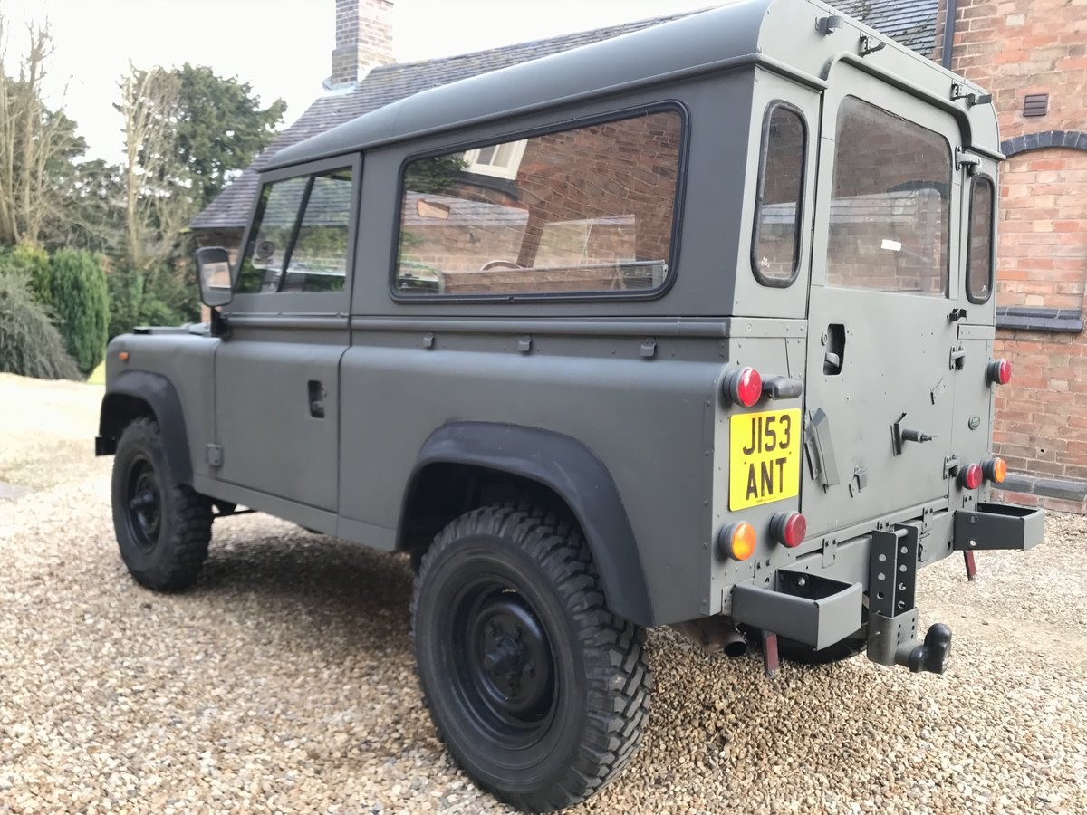 1992 Land Rover Defender ExMod 90 USA Exportable For Sale (picture 2 of 6)