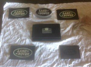 Land Rover memorabilia. For Sale
