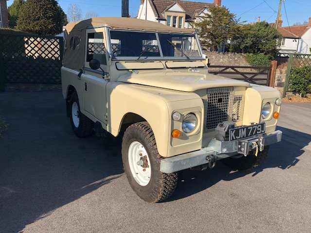 1971 LandRover SIIA SWB FullRebuild 4yrs  ago, PAS For Sale (picture 1 of 6)