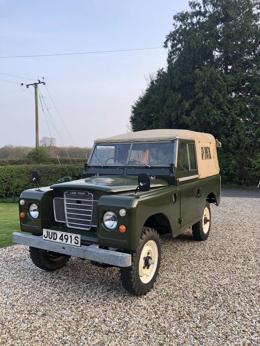 1978 Land Rover  series III SOLD (picture 1 of 6)