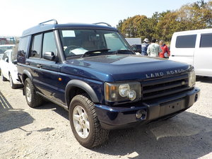 2004 LAND ROVER DISCOVERY 4.0 V8 SE HALF LEATHER 4X4 * LOW MILES