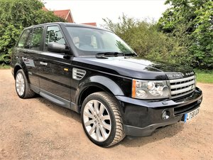 2008 08/58 Range Rover Sport TDV8 HSE+just 46000m+2 owners+FSH SOLD