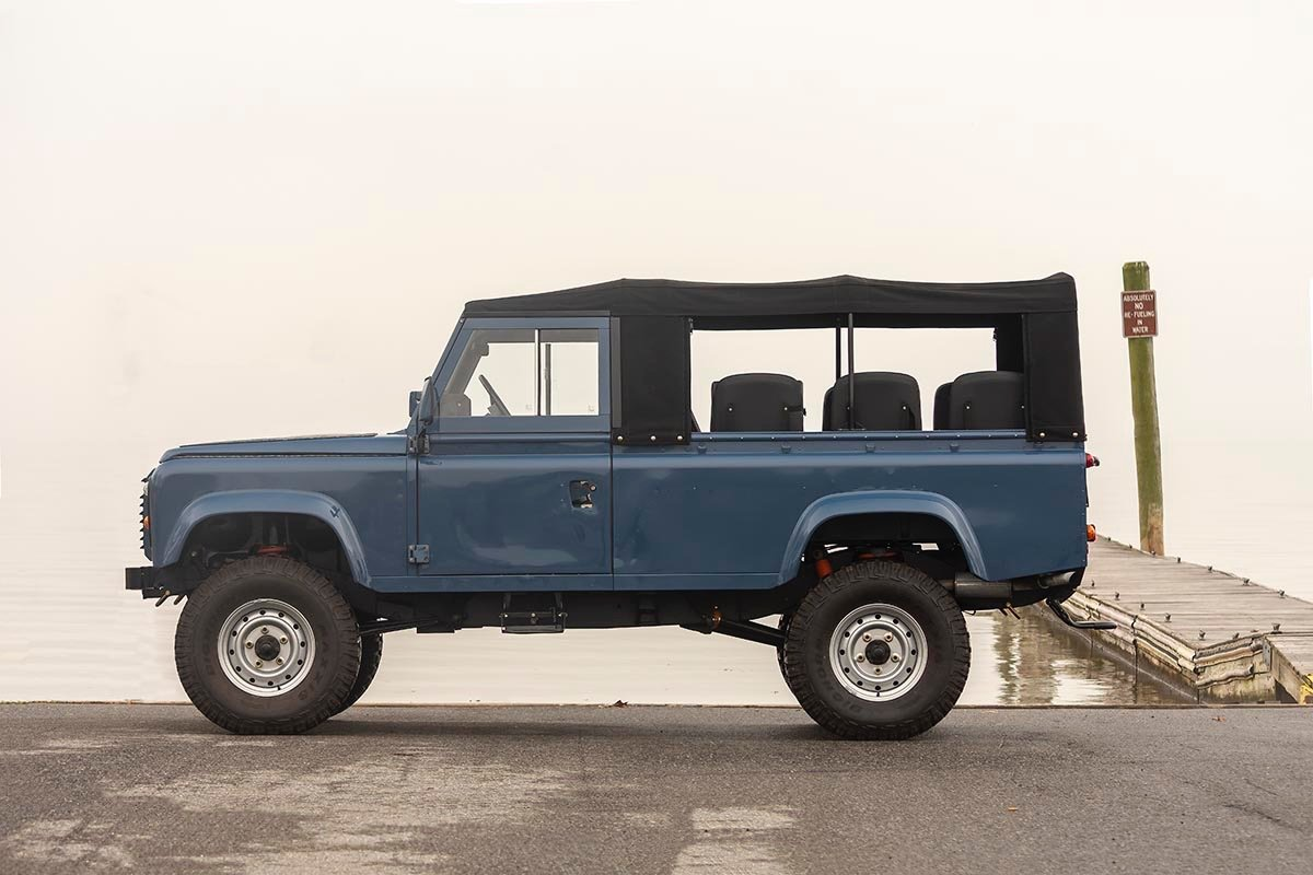 1988 Land Rover 110 3.5 V8 LHD with A/C SOLD (picture 4 of 11)