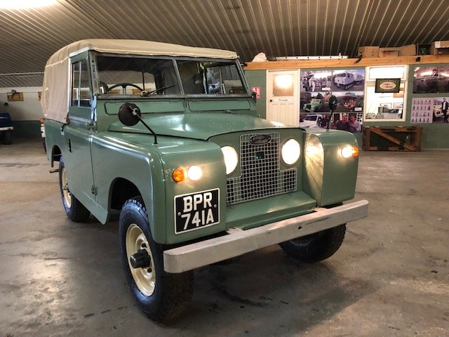 1963 Land Rover® Series 2a (BPR) RESERVED SOLD (picture 1 of 6)