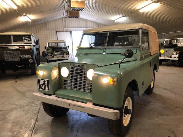 1963 Land Rover® Series 2a (BPR) RESERVED SOLD (picture 2 of 6)