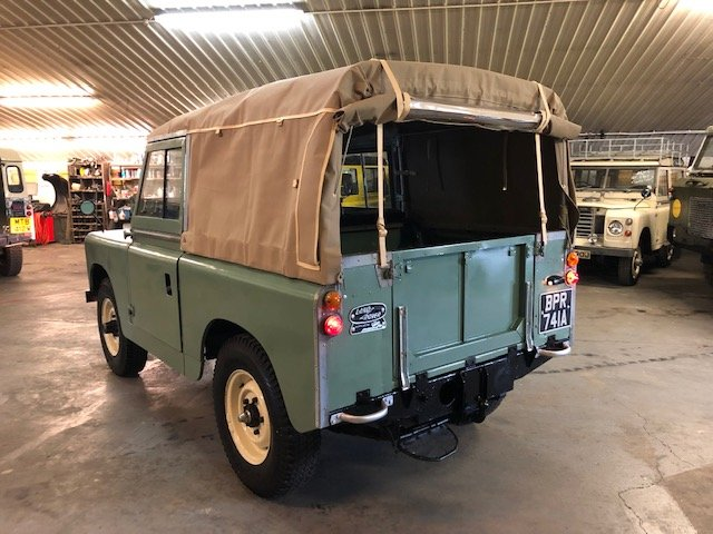 1963 Land Rover® Series 2a (BPR) RESERVED SOLD (picture 3 of 6)