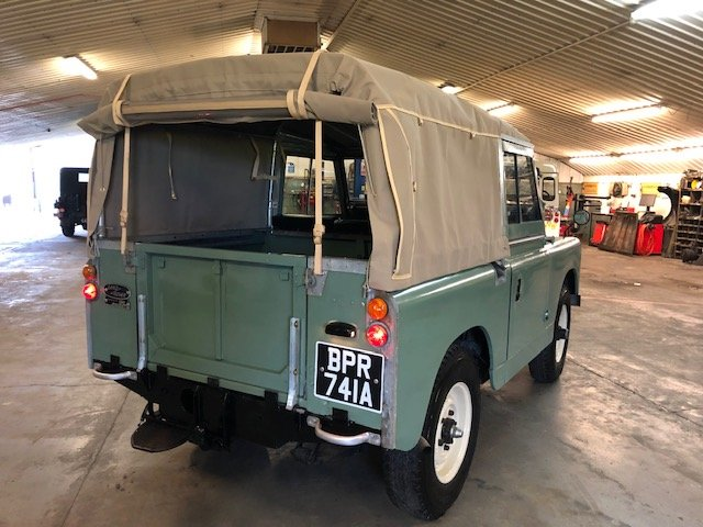 1963 Land Rover® Series 2a (BPR) RESERVED SOLD (picture 4 of 6)