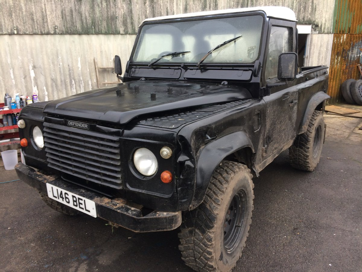 Land Rover Defender 90 200 Tdi. L reg 1993 USA exportable  For Sale (picture 2 of 3)
