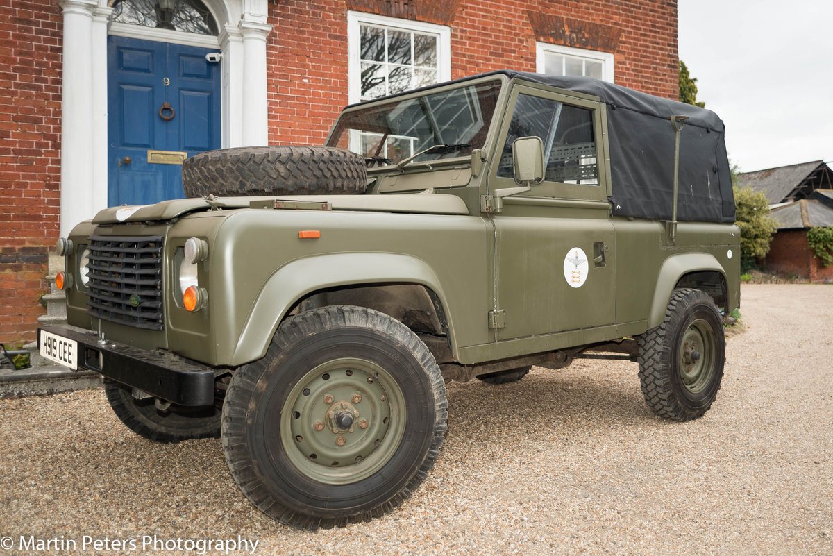 1990 Landrover Defender Military FFR For Sale (picture 1 of 24)