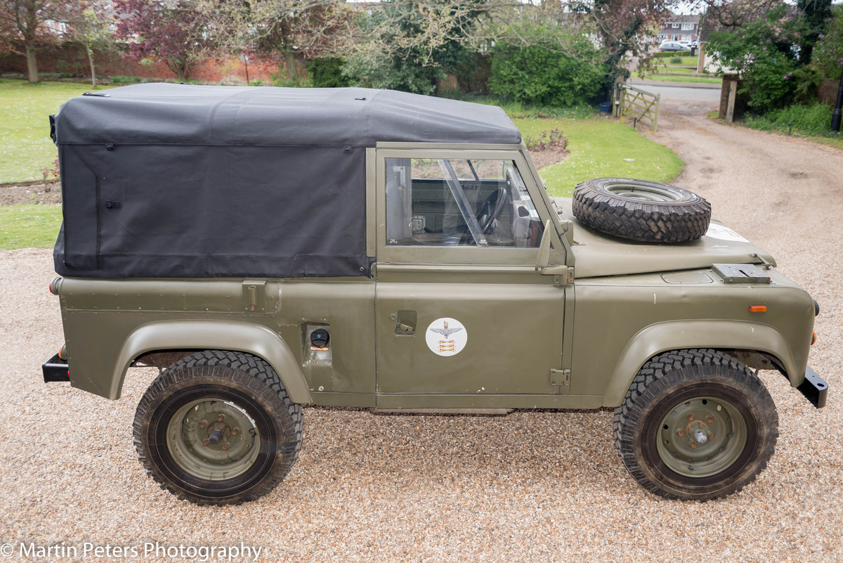 1990 Landrover Defender Military FFR For Sale (picture 3 of 24)