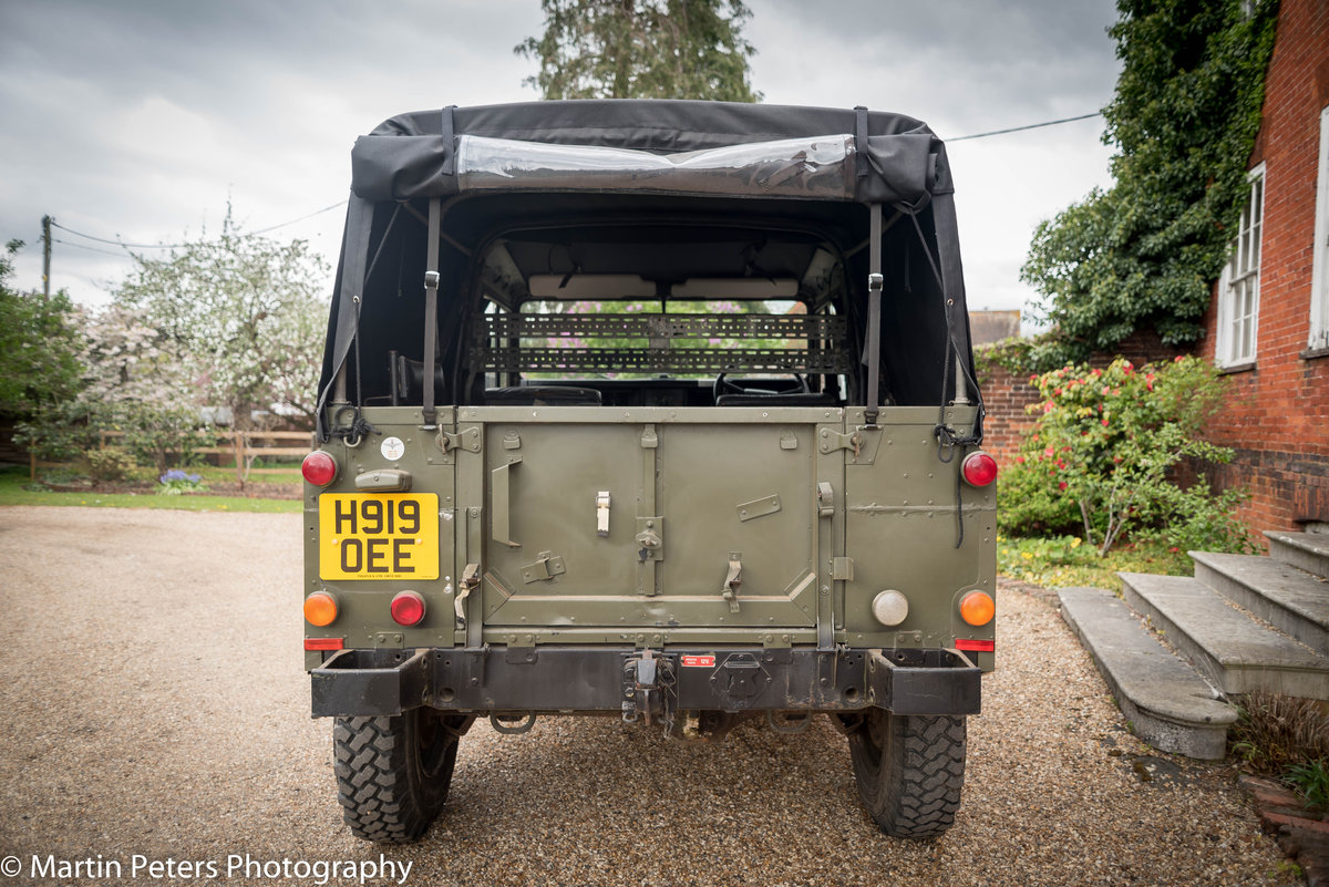 1990 Landrover Defender Military FFR For Sale (picture 6 of 24)