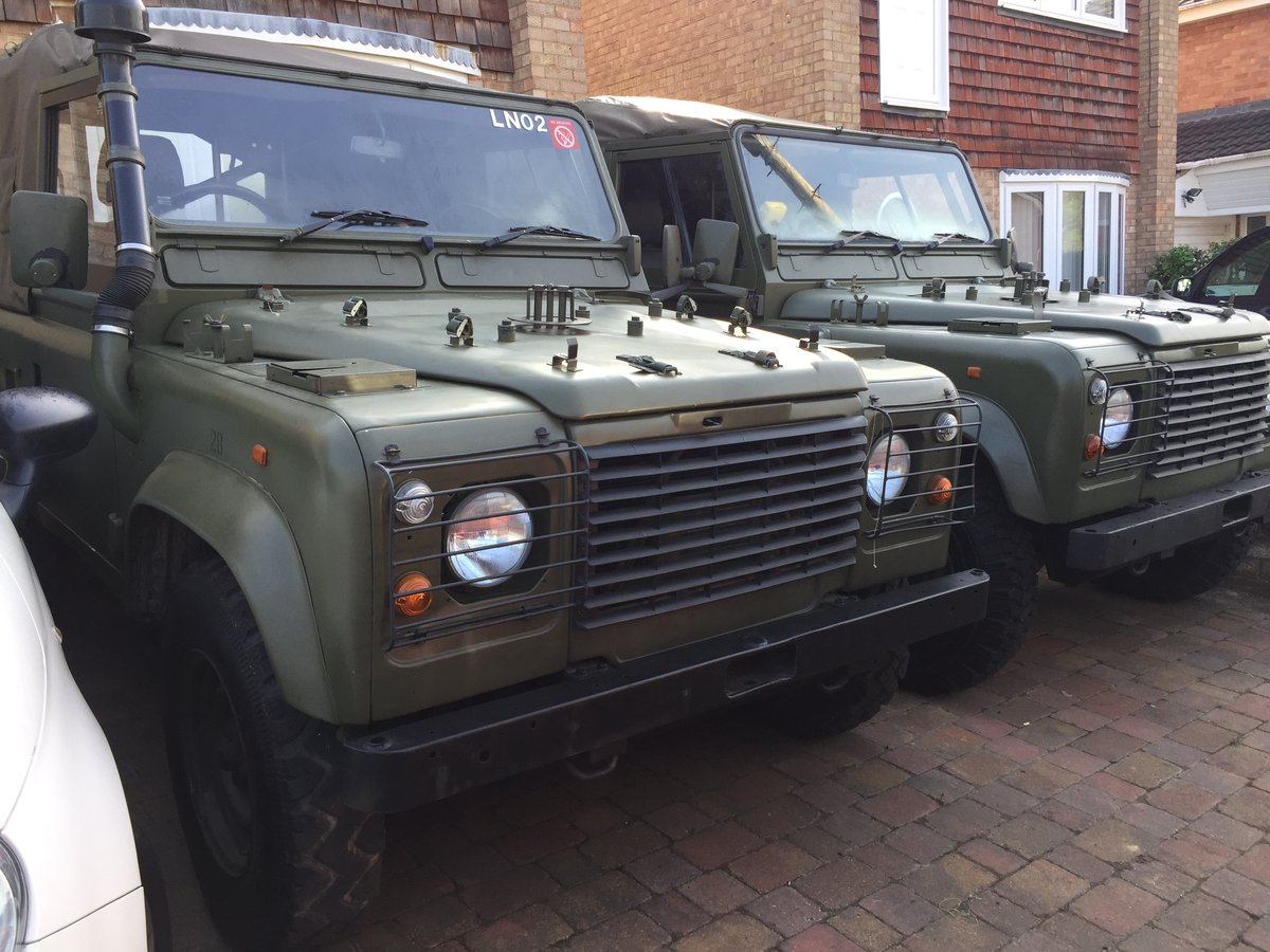 1997 Landrover Defender Wolf GS HS TUL Soft top For Sale (picture 1 of 6)