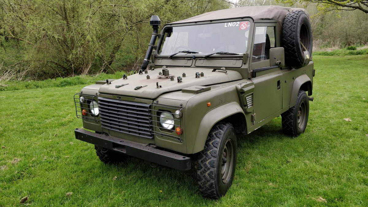 1997 Landrover Defender Wolf GS HS TUL Soft top For Sale (picture 2 of 6)
