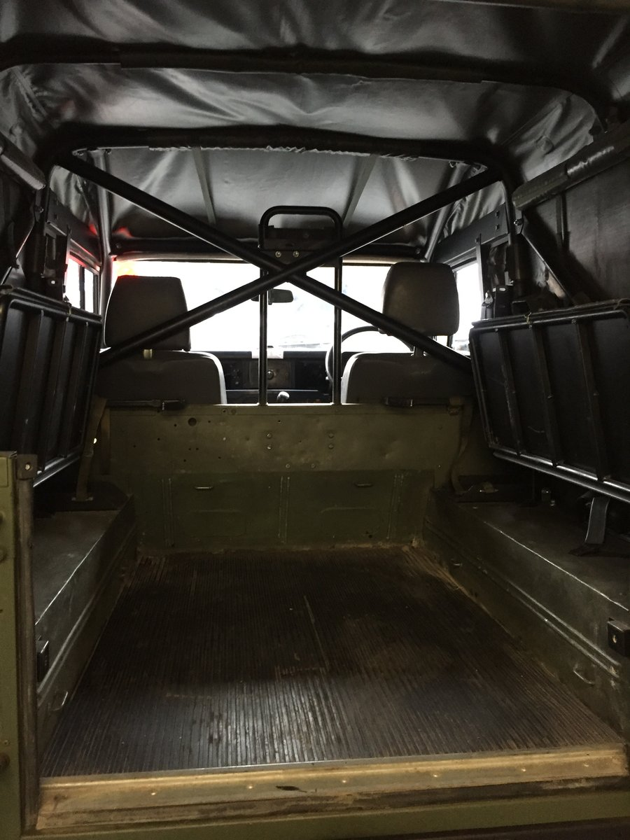 1997 Landrover Defender Wolf GS HS TUL Soft top For Sale (picture 3 of 6)