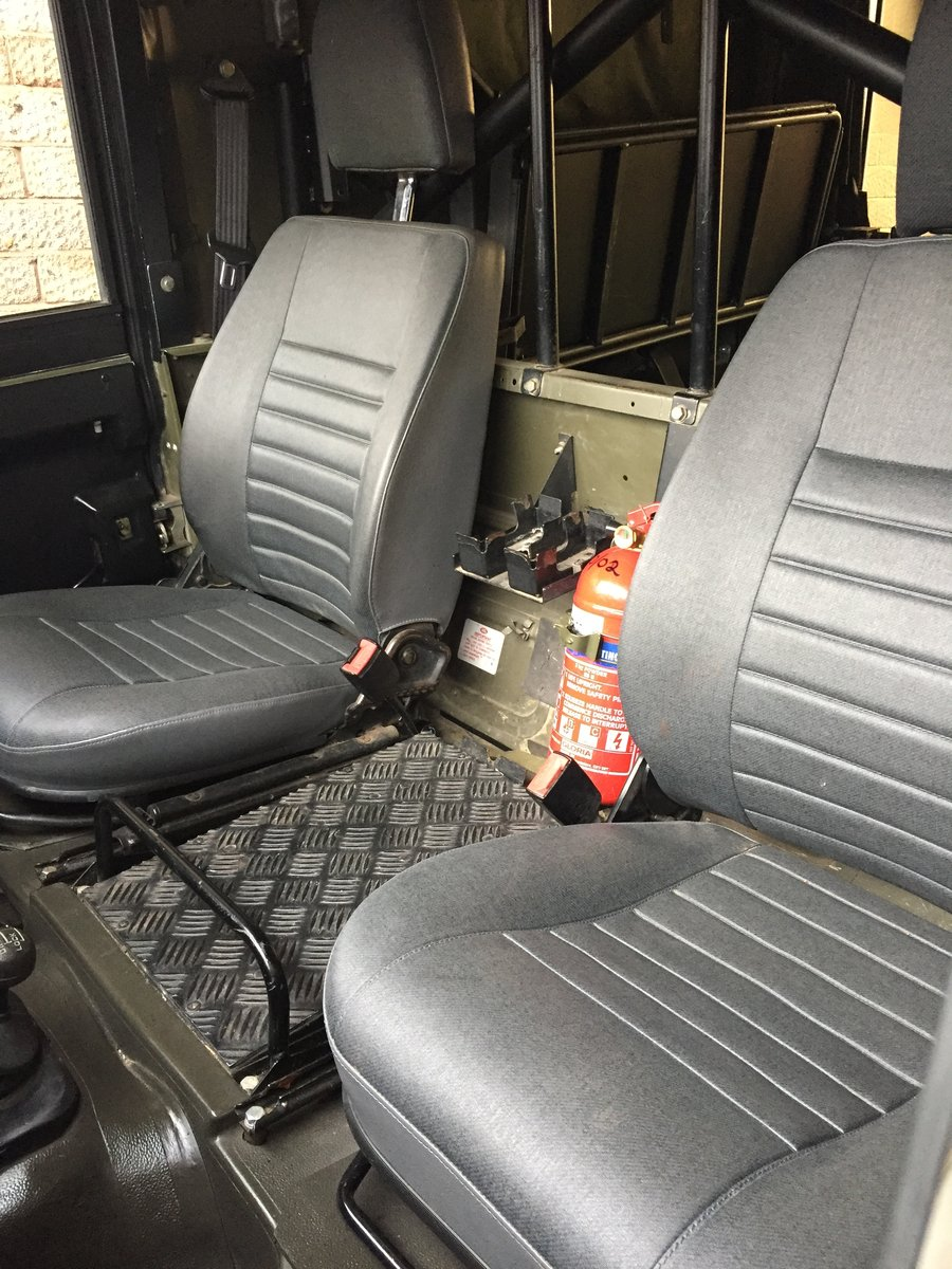 1997 Landrover Defender Wolf GS HS TUL Soft top For Sale (picture 5 of 6)