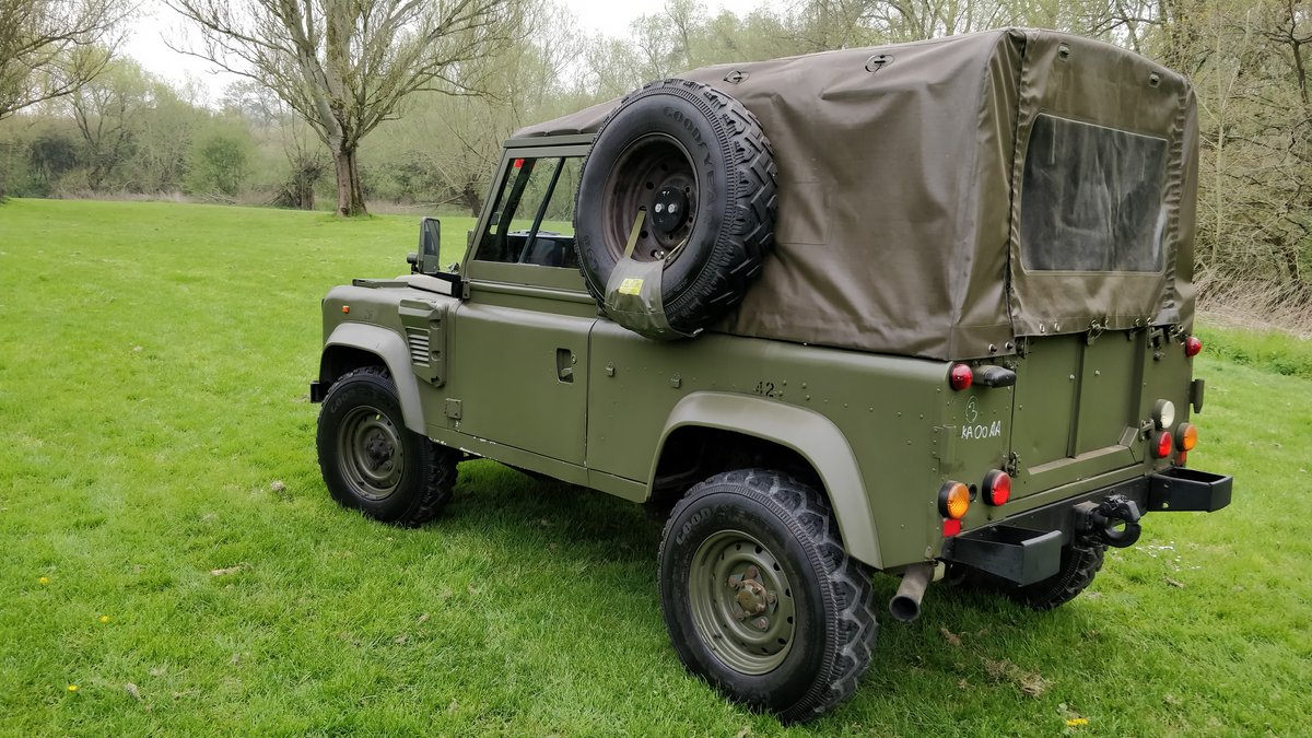1997 Landrover Defender Wolf GS HS TUL Soft top For Sale (picture 6 of 6)