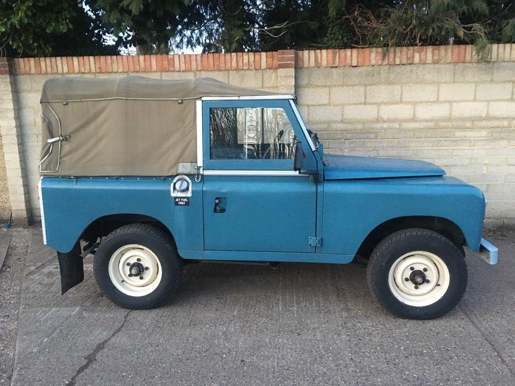 1975 Land Rover Seies 3 Genuine 58,000 Miles!! For Sale (picture 1 of 6)