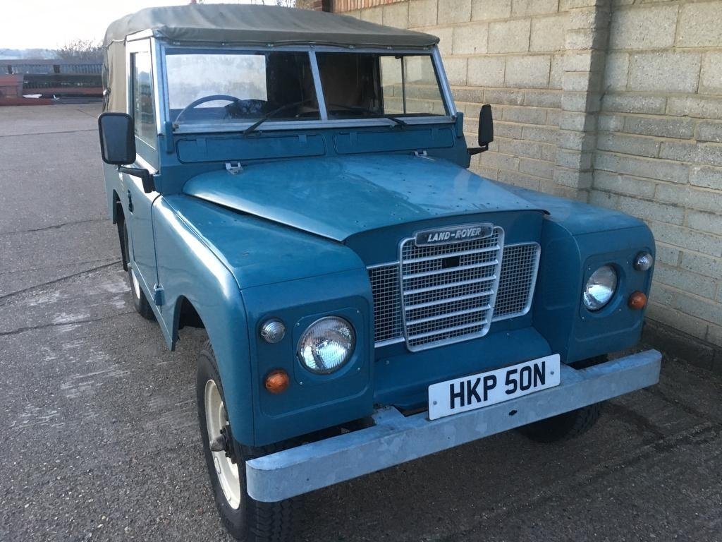 1975 Land Rover Seies 3 Genuine 58,000 Miles!! For Sale (picture 3 of 6)