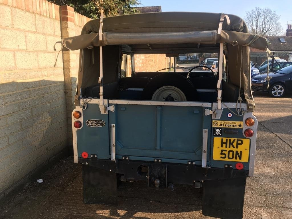 1975 Land Rover Seies 3 Genuine 58,000 Miles!! For Sale (picture 4 of 6)