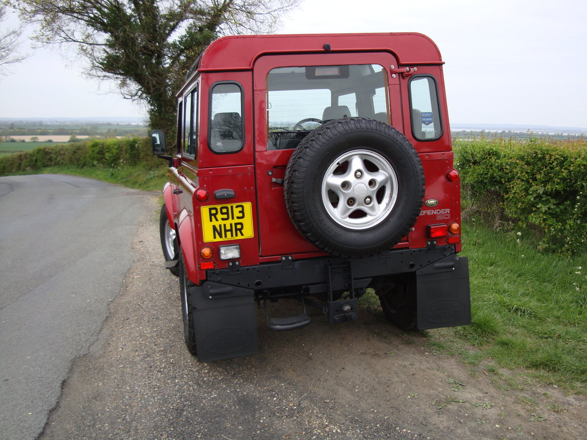 1998 Landrover Defender 300TDI  SWB Red For Sale (picture 3 of 6)
