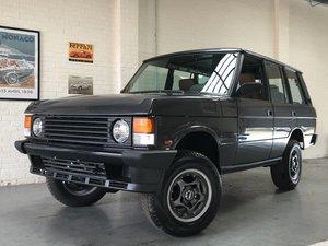 1990 range rover overfinch 680 cs 6.8 manual - lhd vogue se