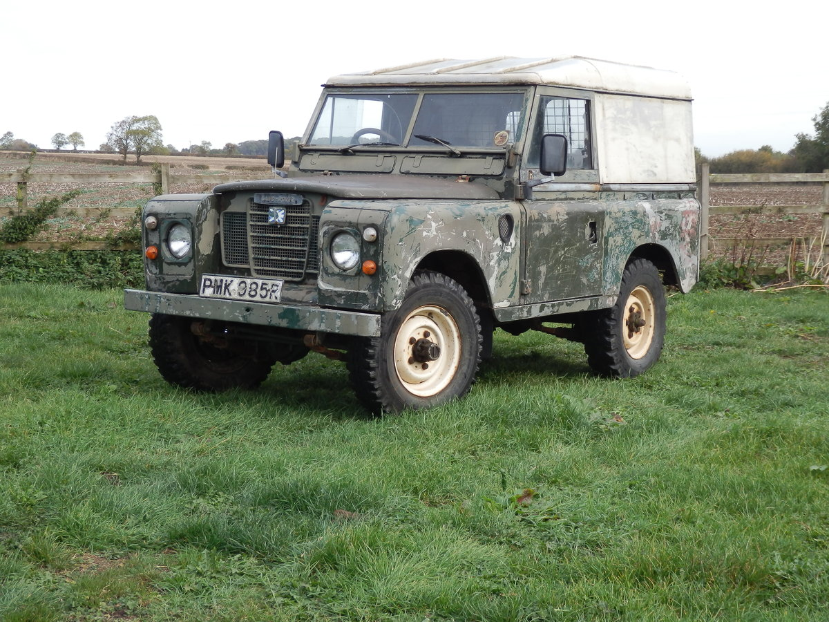 1977 Series 3 Land Rover  For Sale (picture 1 of 6)