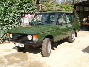 1987 range rover classic fleet line factory diesel For Sale
