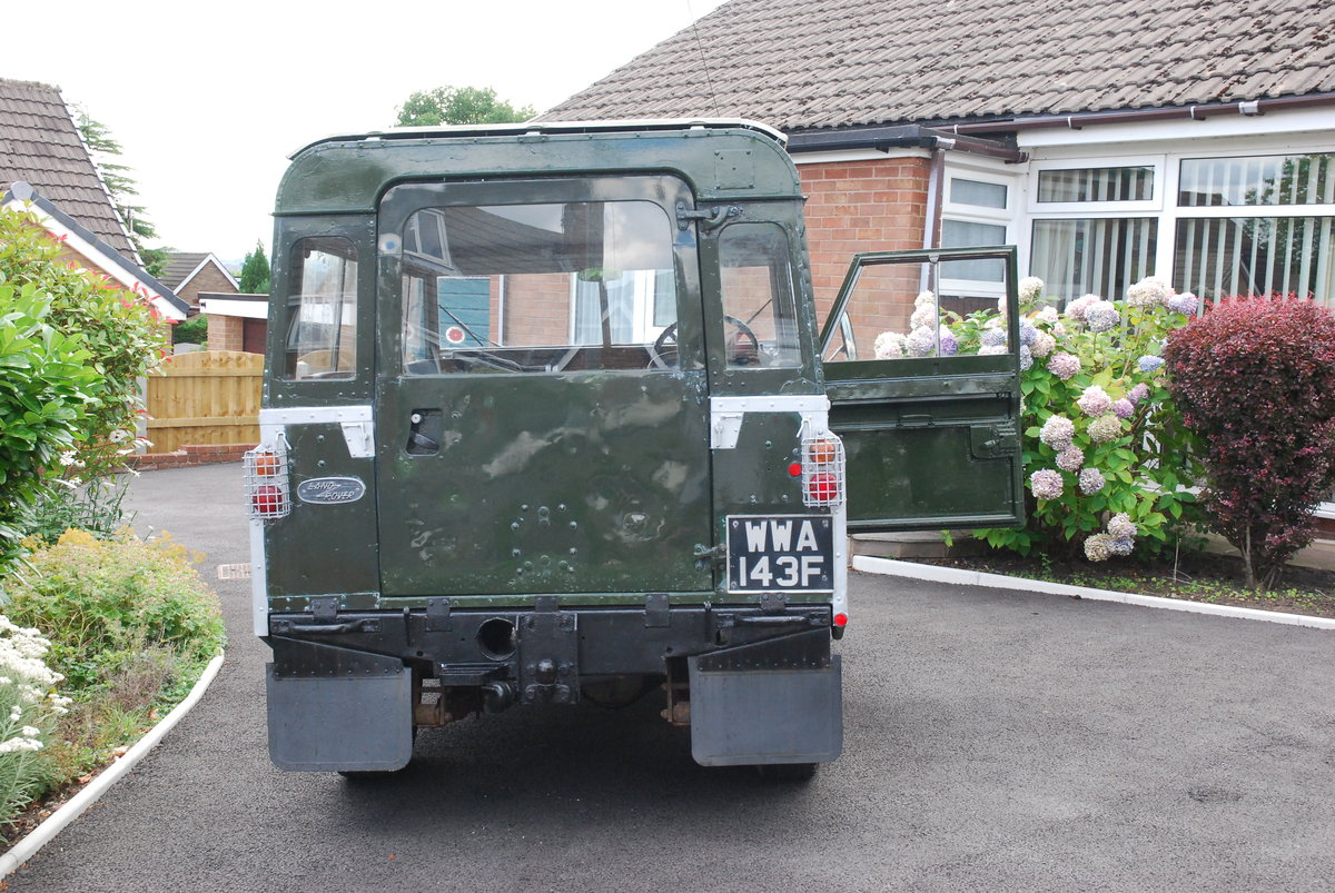 1968 Land Rover Safari Roof For Sale (picture 5 of 5)