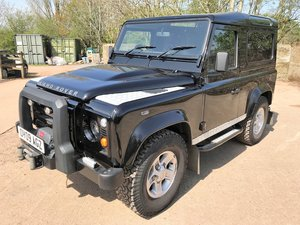 excellent 2009 Defender 90 TDCi XS Station Wagon+good spec For Sale
