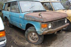 1971 Suffix A Range Rover Classic - Brave Restoration ! SOLD