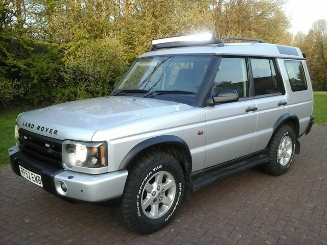 2002 Land Rover Discovery TD5 GS at Morris Leslie 25th May SOLD by Auction (picture 1 of 6)