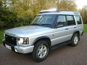 2002 Land Rover Discovery TD5 GS at Morris Leslie 25th May SOLD by Auction