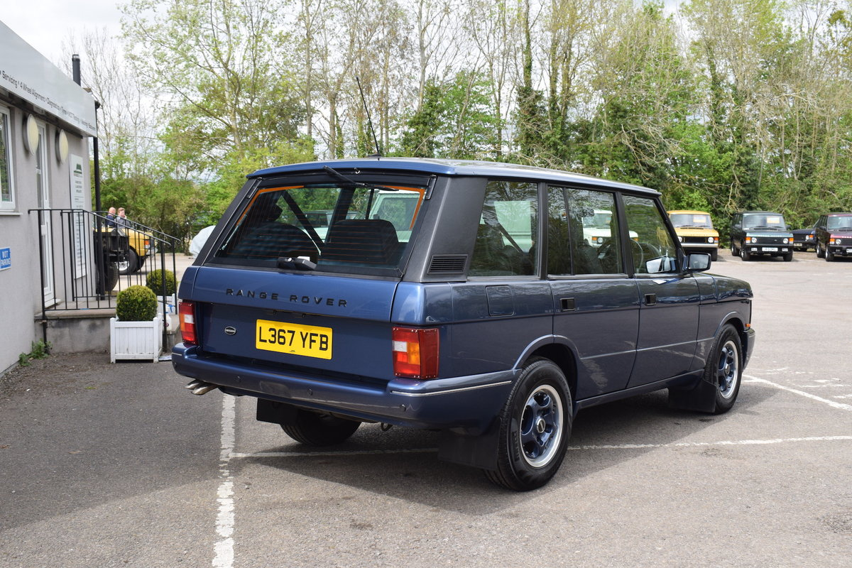 Restored 1994 Kingsley Range Rover Classic OVERFINCH 630R For Sale (picture 3 of 12)
