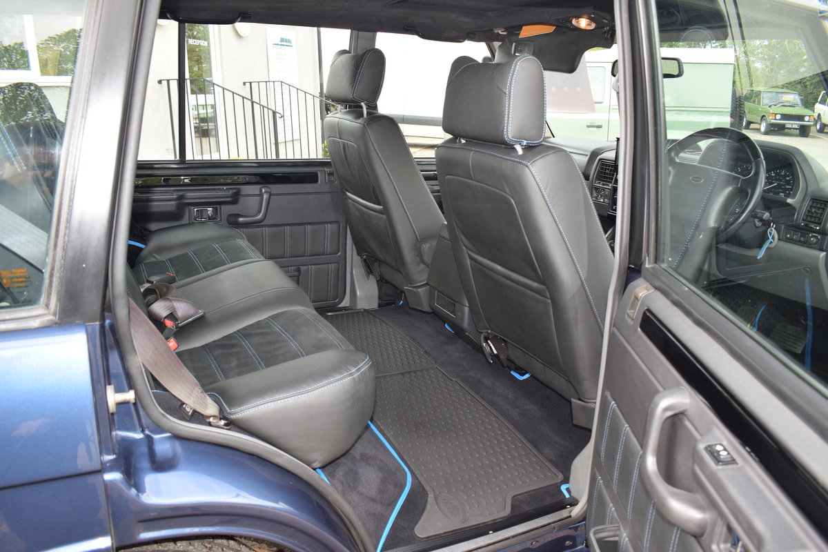 Restored 1994 Kingsley Range Rover Classic OVERFINCH 630R For Sale (picture 4 of 12)