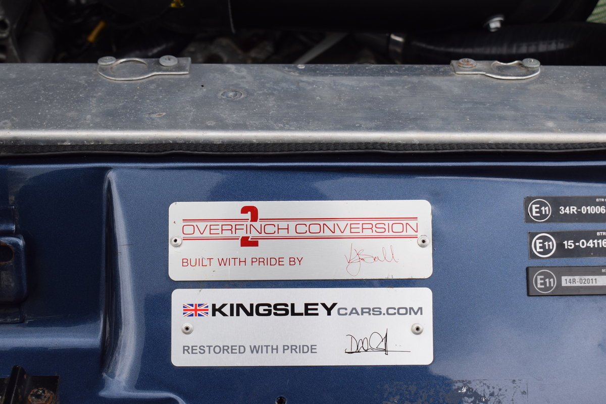 Restored 1994 Kingsley Range Rover Classic OVERFINCH 630R For Sale (picture 8 of 12)