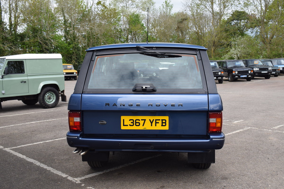 Restored 1994 Kingsley Range Rover Classic OVERFINCH 630R For Sale (picture 12 of 12)