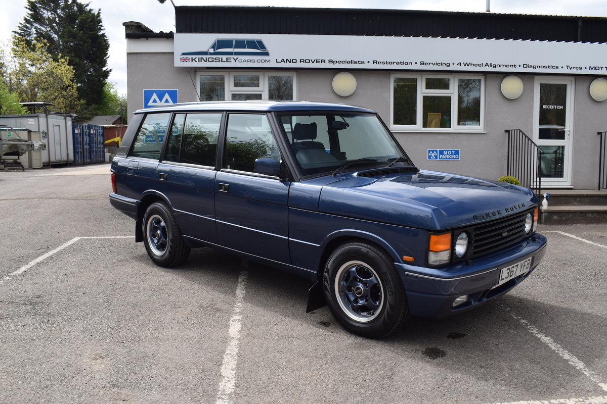 Restored 1994 Kingsley Range Rover Classic OVERFINCH 630R For Sale (picture 1 of 12)