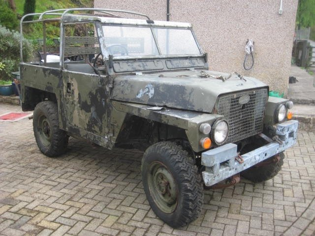 1979 Land Rover Series 3 Lightweight  SOLD (picture 1 of 6)
