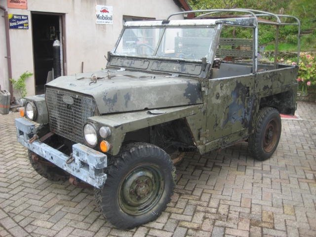 1979 Land Rover Series 3 Lightweight  SOLD (picture 2 of 6)