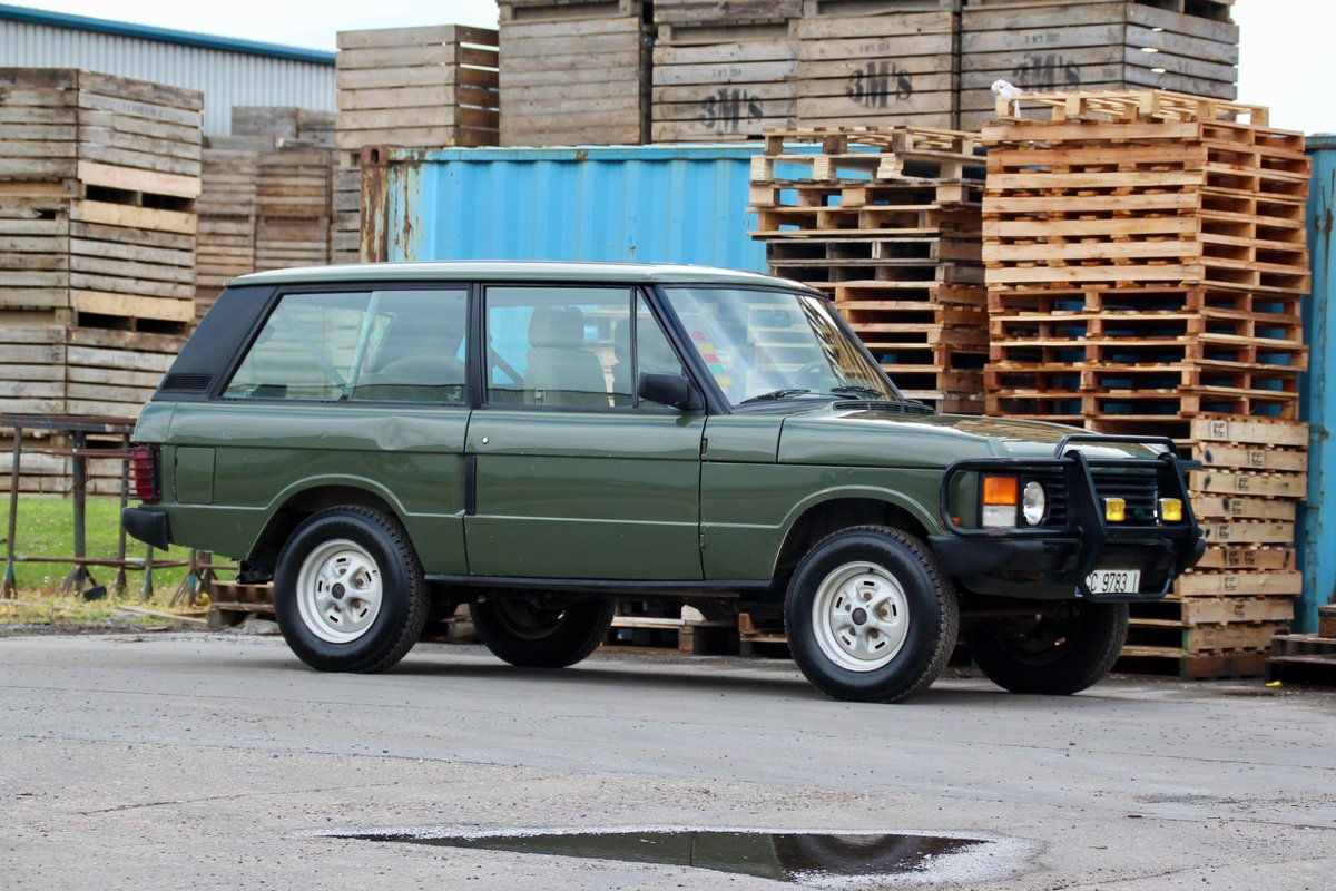 1989 Land Rover Range Rover Classic 2 Door For Sale (picture 1 of 6)