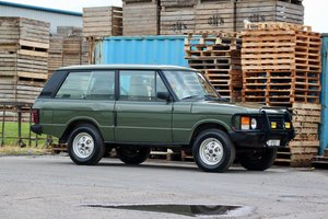 1989 Range Rover Classic 2 Door LHD (USA Eligible) For Sale