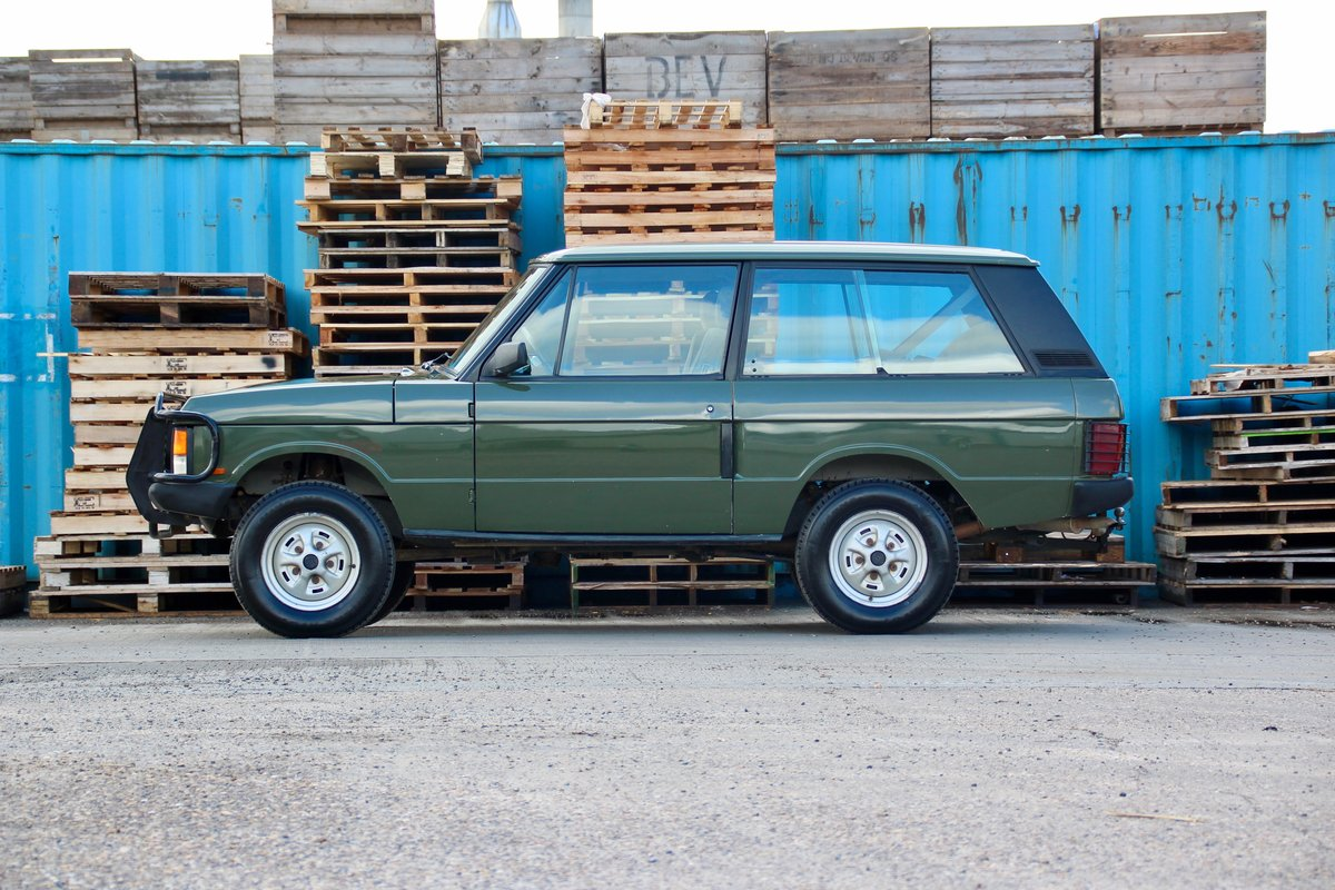1989 Land Rover Range Rover Classic 2 Door For Sale (picture 2 of 6)