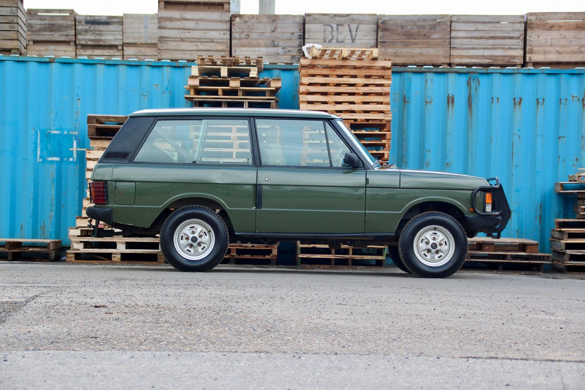 1989 Land Rover Range Rover Classic 2 Door For Sale (picture 3 of 6)
