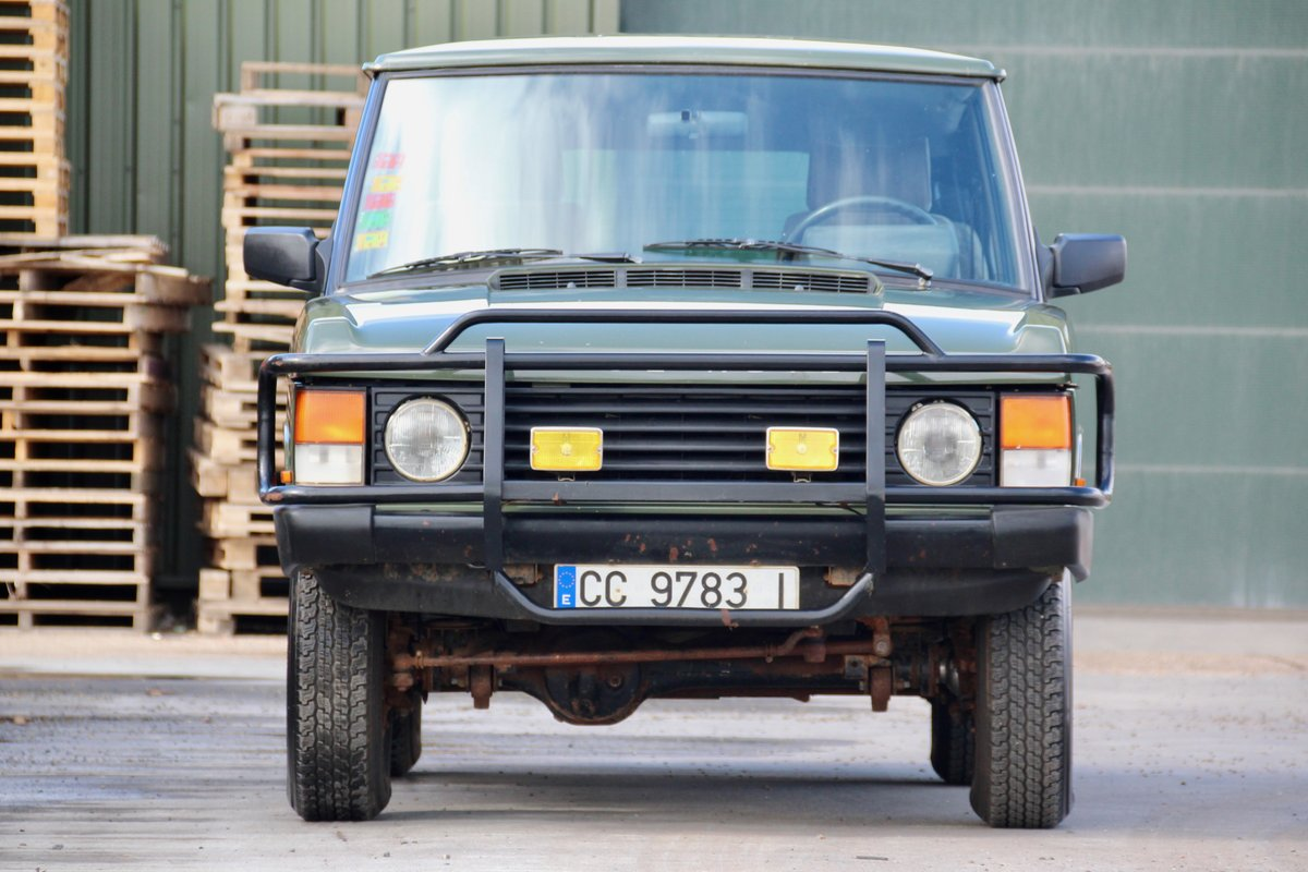 1989 Land Rover Range Rover Classic 2 Door For Sale (picture 4 of 6)