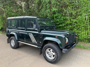 2000 LAND ROVER DEFENDER 2.5 110 COUNTY S/W TD5 5d 11 / 12 Seater For Sale