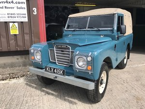 1971 Land Rover ® Series 3 *Galvanised Chassis 200 DI* (KLX)